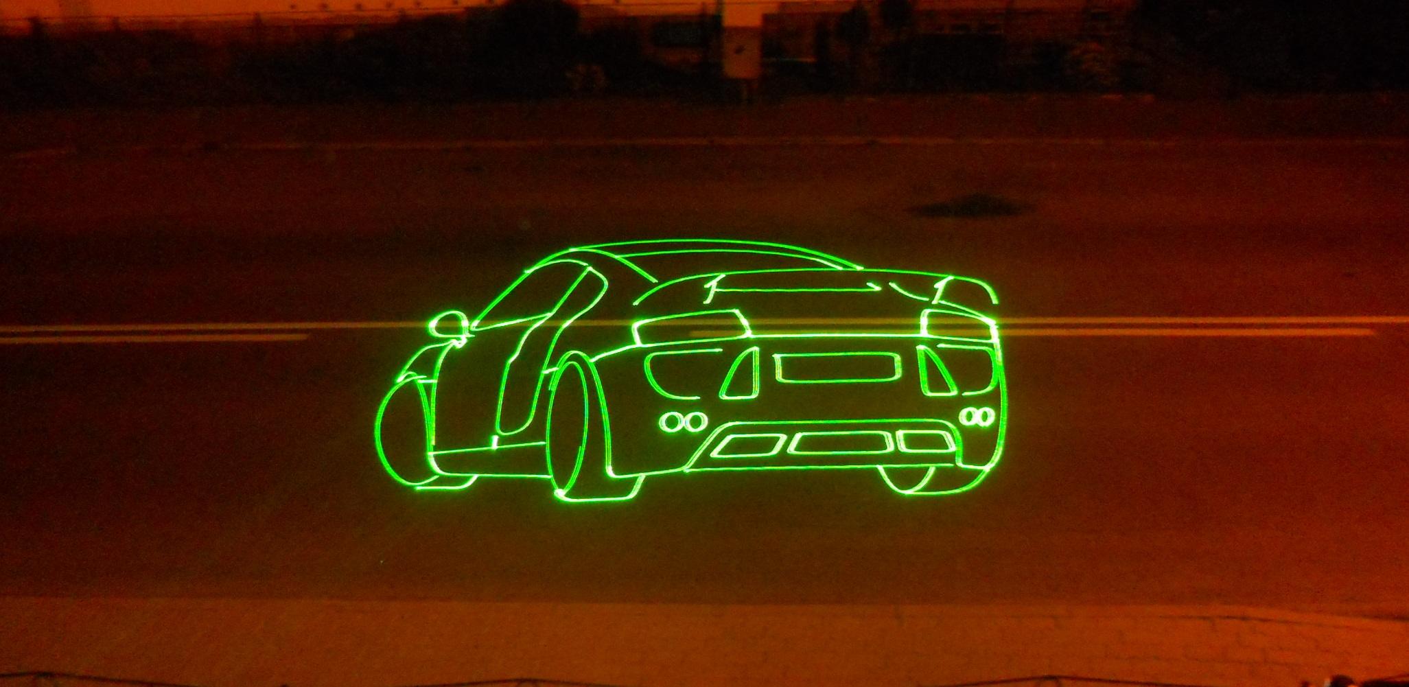 Audi R8 -LaserShow