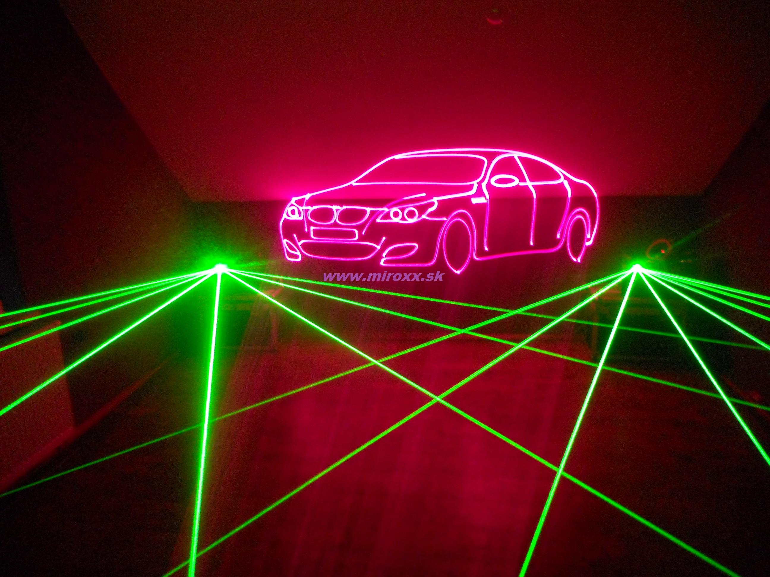 Laserové efekty + laserová grafika