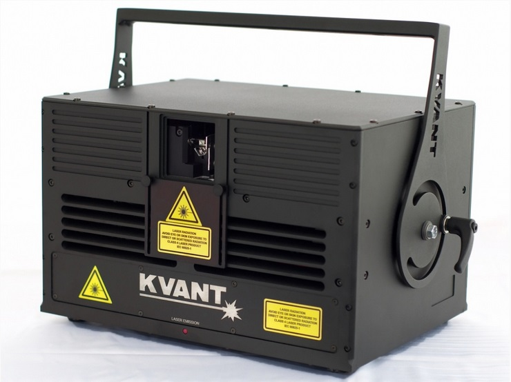 KVANT Maxim G15 (OPSL Coherent Taipan) with CT6215-HP scanning system