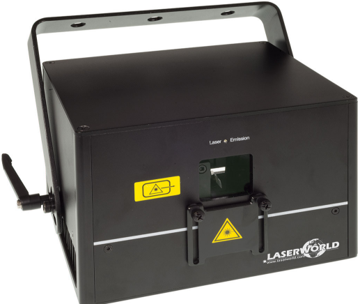 Laserworld DS-2000RGB - demo unit