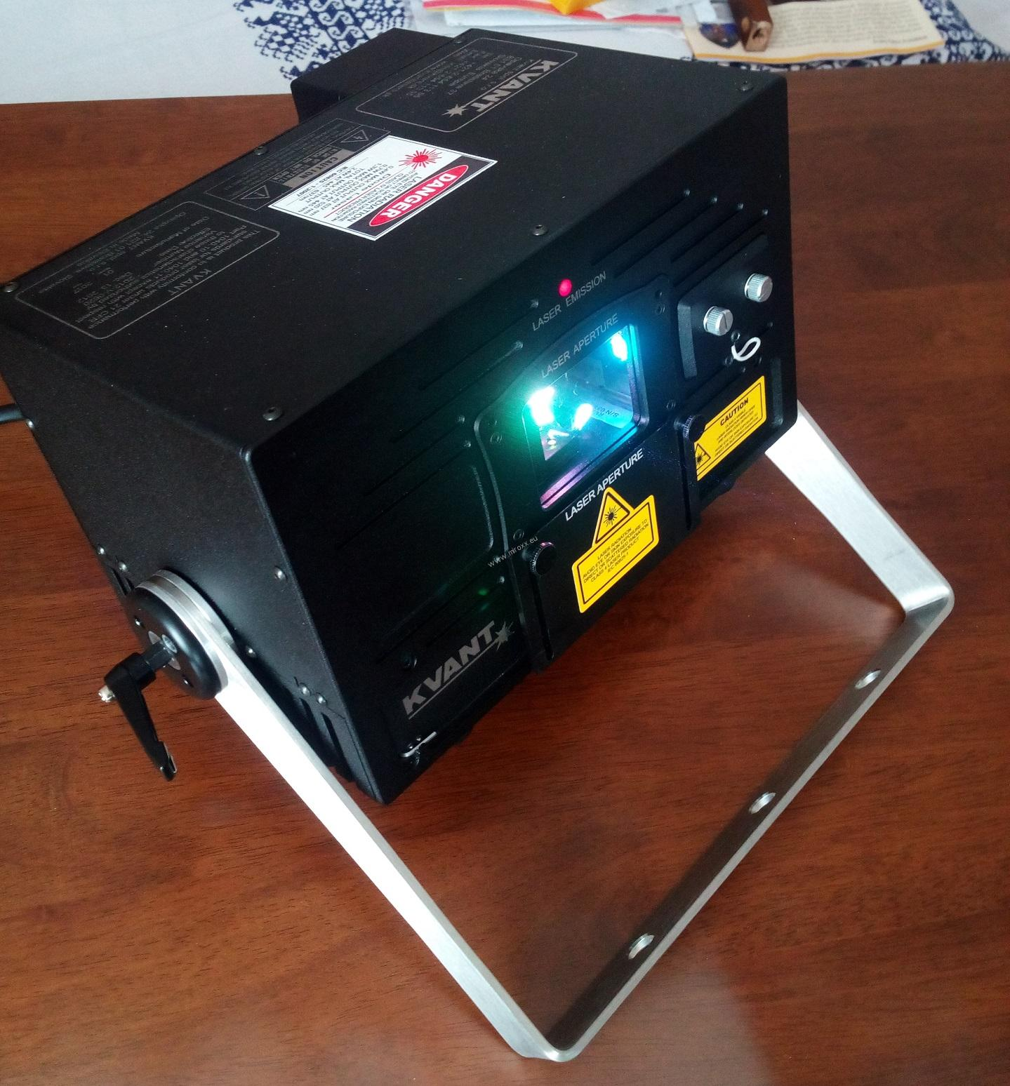 KVANT ClubMax 2000- DEMO unit with Flightcase