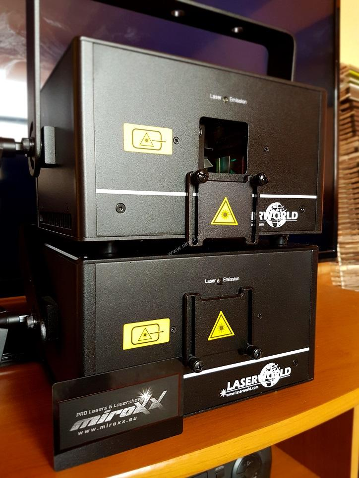 Laserworld DS-1000RGB - Shownet integrated