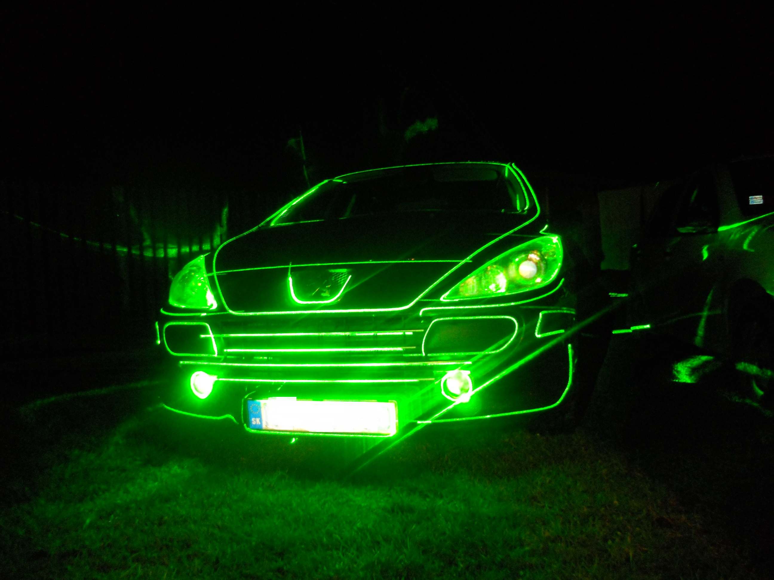 Laser MAPPING - Peugeot 307